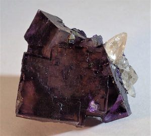 Illilnois Fluorite with Calcite