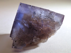 Illinois Fluorite with Chalcopyrite