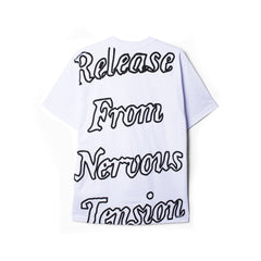 "EXCHANGE PROGRAM ""TENSION"" T-SHIRT (WHITE)"