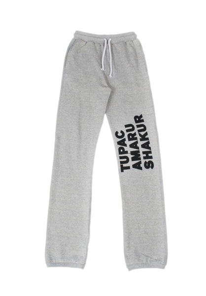 """TUPAC TYPE HUMAN BEING"" SWEATPANTS"