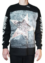 """BROKEN STAR"" LS T-SHIRT (BLACK)"