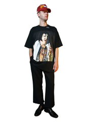 """HEAVY ELVIS"" T-SHIRT (BLACK)"