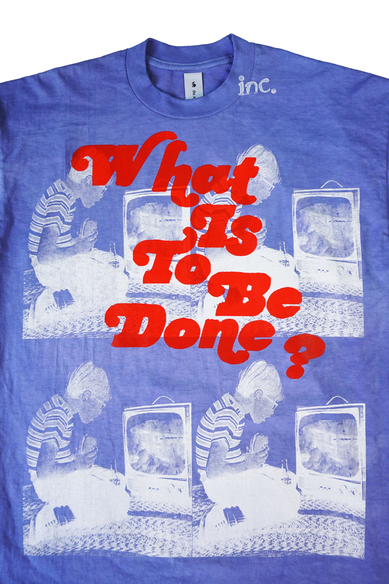 WHAT IS TO BE DONE? LS T-Shirt / LAVENDER - The Incorporated