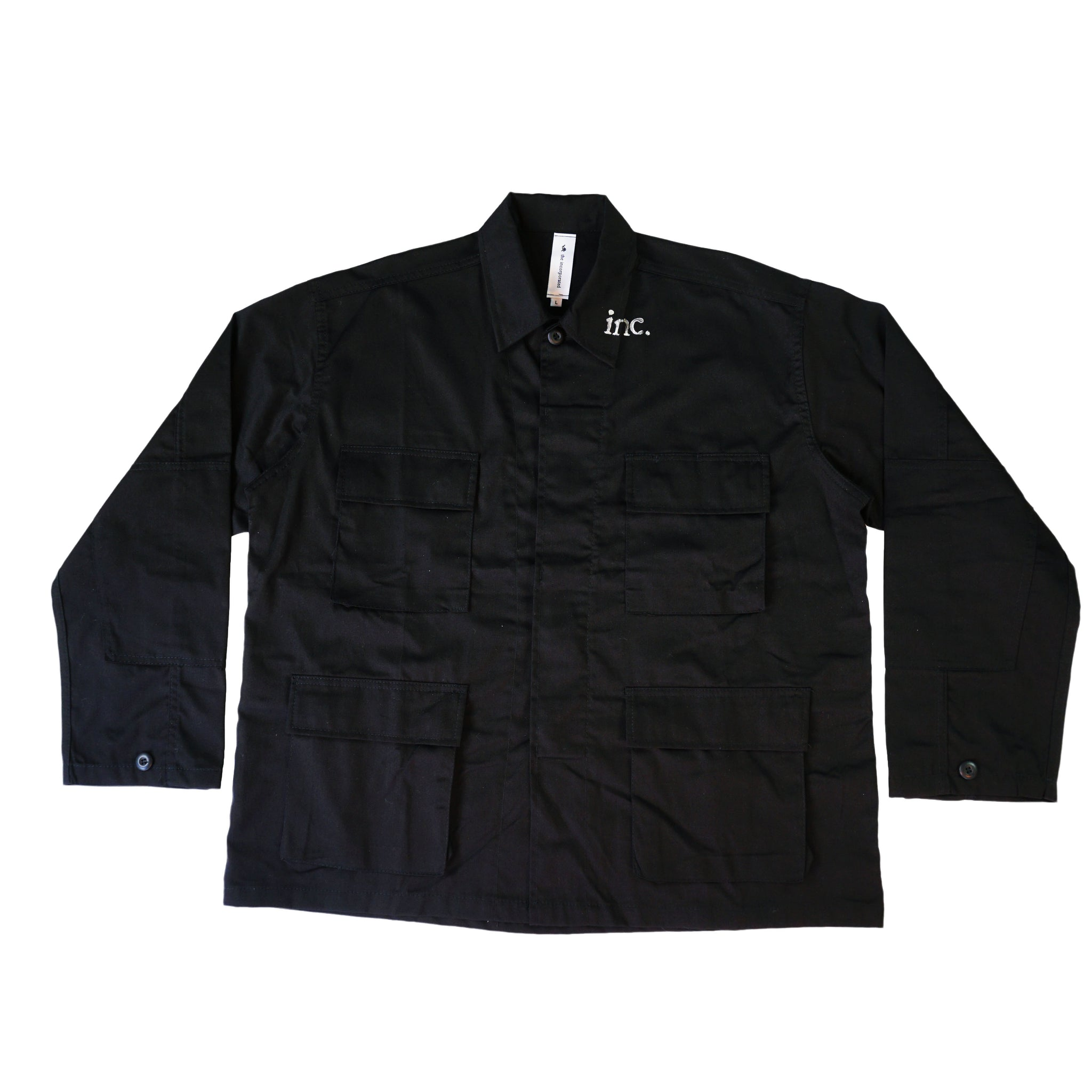THE AGITATOR Cargo Jacket / BLACK - The Incorporated