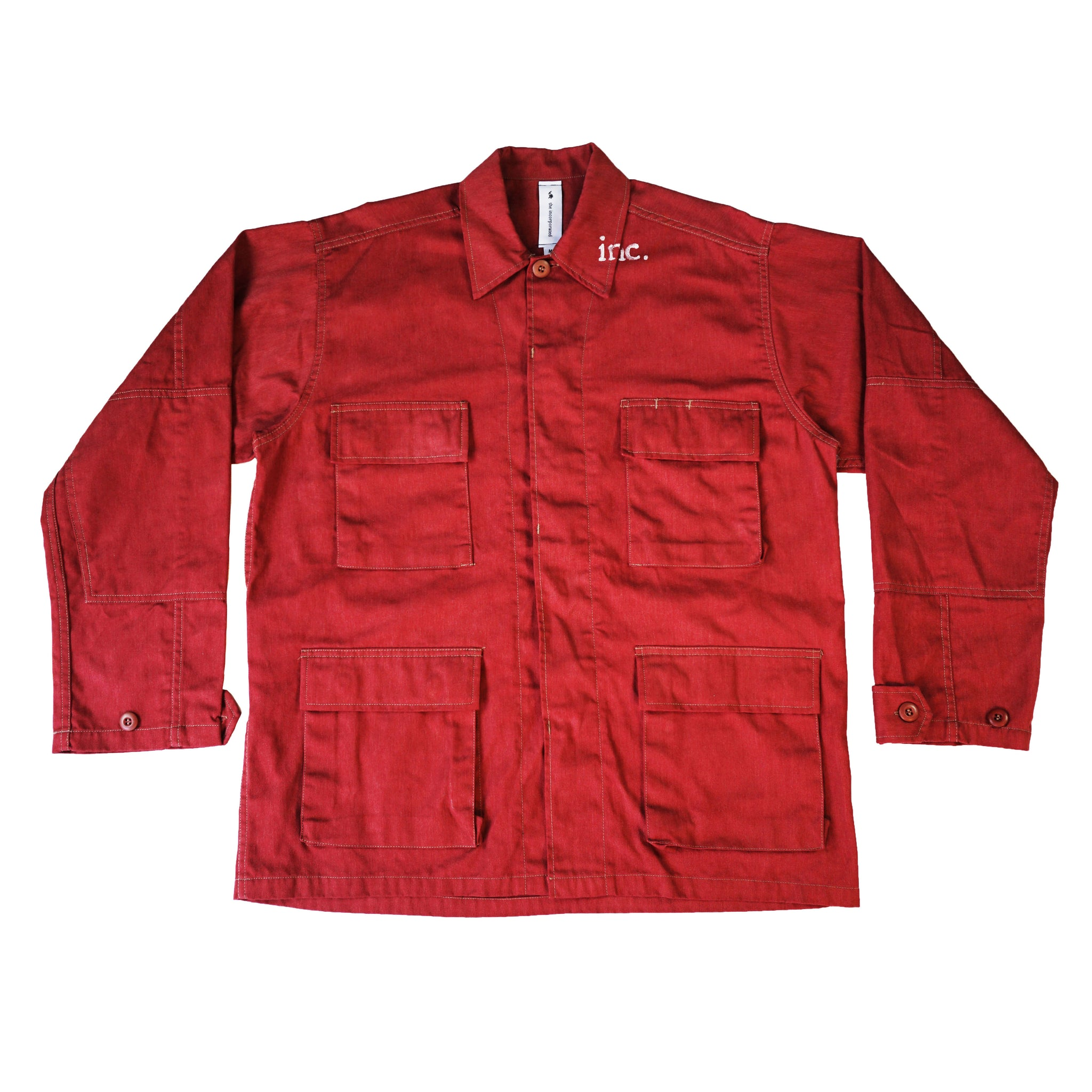 THE AGITATOR Cargo Jacket / RED - The Incorporated