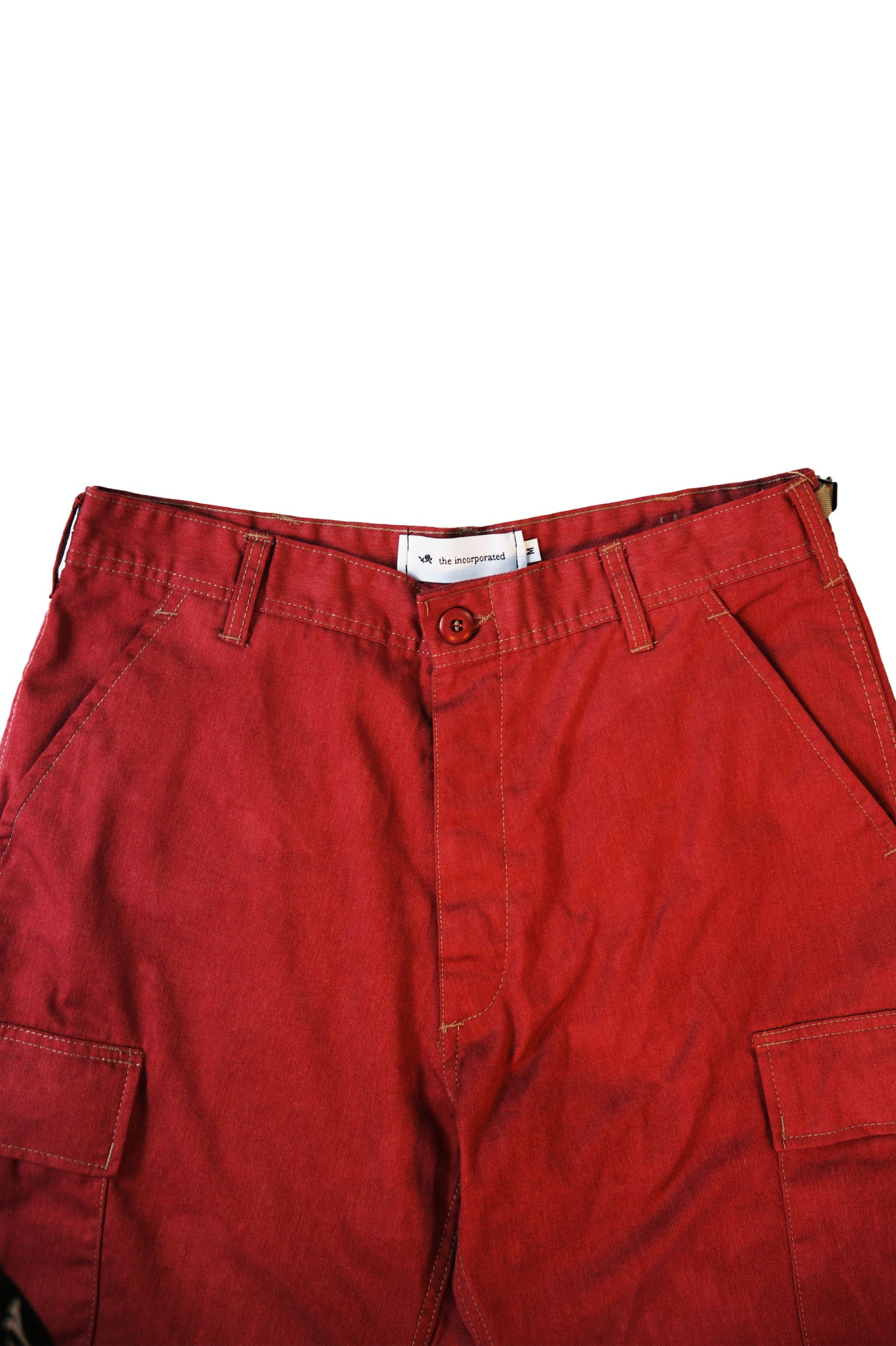 THE AGITATOR Cargo Pants / RED - The Incorporated