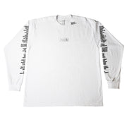 """THE LABEL"" LS T-Shirt - WHITE - The Incorporated"