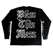 """THE RESURRECTION"" LS T-Shirt - BLACK - The Incorporated"