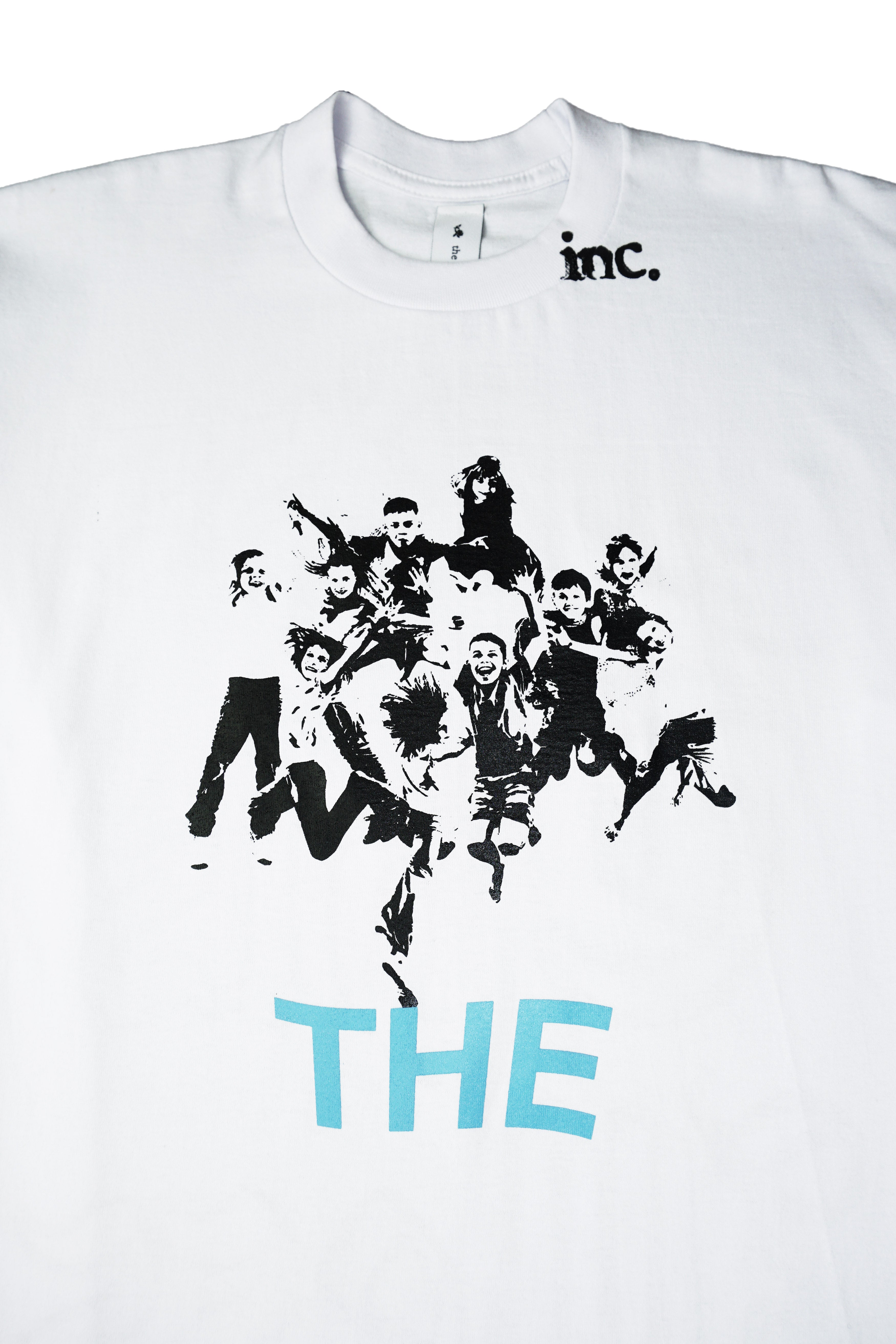 """THE KIDS"" LS T-Shirt - WHITE - The Incorporated"