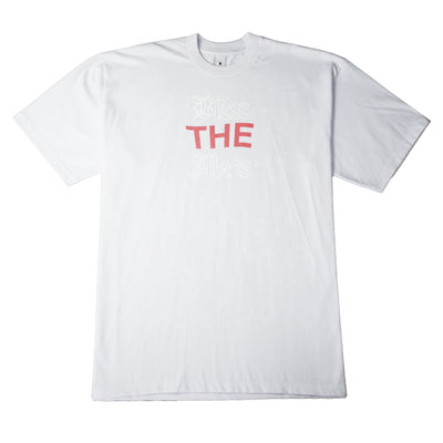 """BLESS THE MESS"" T-Shirt - WHITE - The Incorporated"