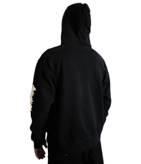"""SMILE IN TROUBLE"" HOODY (BLACK)"