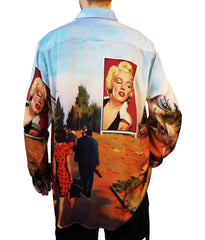 """FOLLOW MARILYN"" OXFORD SHIRT"