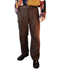 """THE VARSITY"" CARGO PANTS (BROWN)"