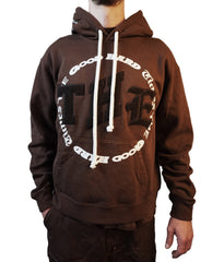 """THE VARSITY"" HOODY (BROWN)"