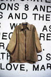 MISMATCHED KHAKI JACKET