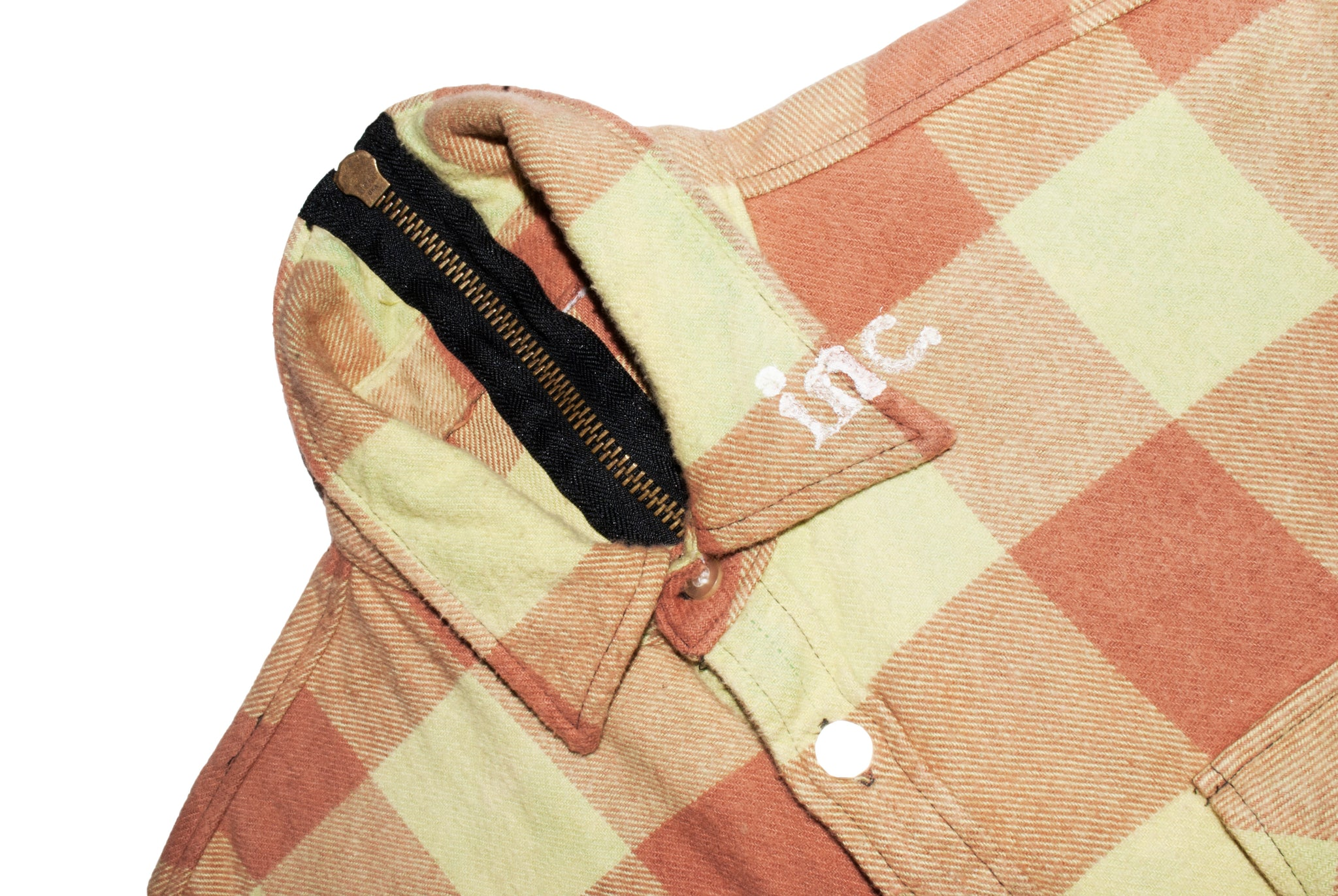 HARD WORK VACATION zip flannel PISTACHIO - The Incorporated