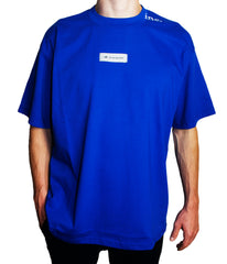 """THE LABEL"" T-SHIRT (BLUE)"
