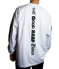 """THE LABEL"" LS T-SHIRT (WHITE)"