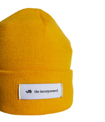 """THE LABEL"" BEANIE (YELLOW)"