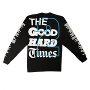 """GOOD Vs. HARD"" LS T-SHIRT (BLACK)"