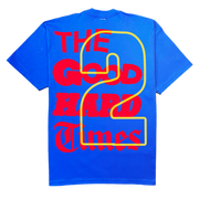 """GOOD Vs. HARD"" T-SHIRT (BLUE)"