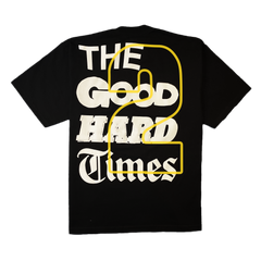 """GOOD Vs. HARD"" T-SHIRT (BLACK)"