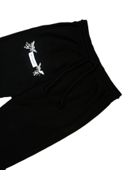 """GOOD Vs. HARD"" SWEATPANTS (BLACK)"