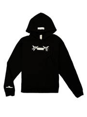 """GOOD Vs. HARD"" HOODY (BLACK)"