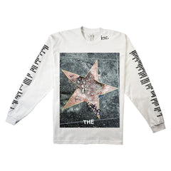 """BROKEN STAR"" LS T-SHIRT (WHITE)"