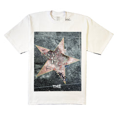 """BROKEN STAR"" T-SHIRT (WHITE)"