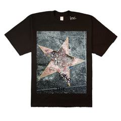 """BROKEN STAR"" T-SHIRT (BLACK)"