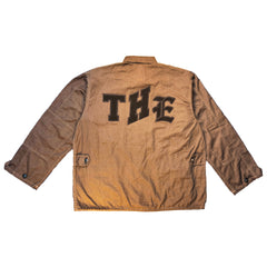 """THE VARSITY"" CARGO JACKET (BROWN)"