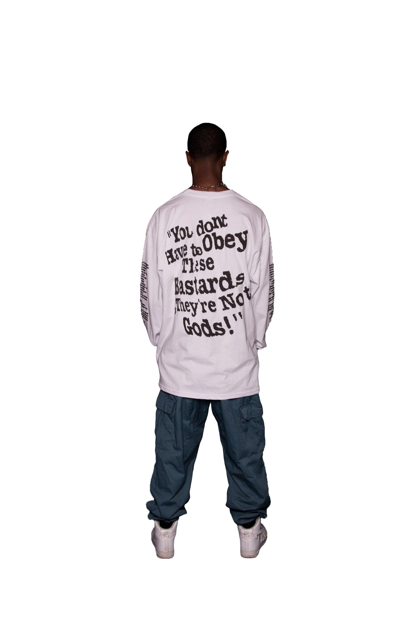 NOBODY LIKES ME Long Sleeve T-Shirt - The Incorporated