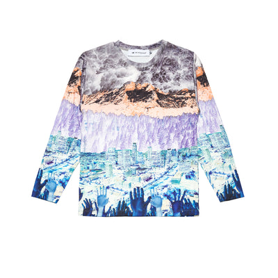 """SEA 2 SHINING SEA"" STRETCH LS SHIRT - The Incorporated"