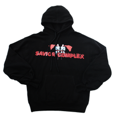 SUPERMAN HOODY - BLACK - The Incorporated