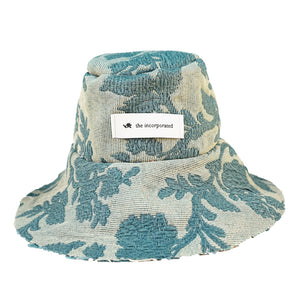 DEADSTOCK UPHOLSTERY Bucket Hat / DEEP BLUE - The Incorporated