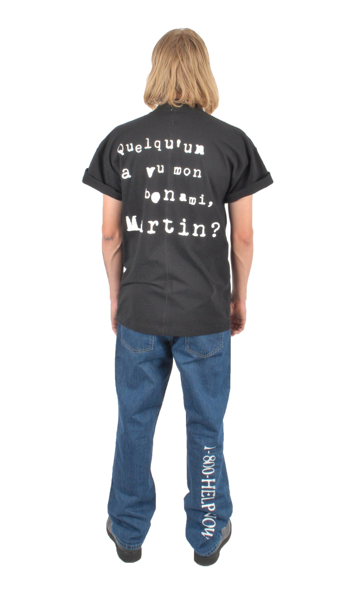 """HAS ANYBODY SEEN MARTIN?"" T-SHIRT - The Incorporated"