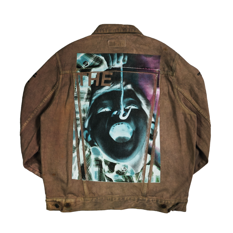 NOBODY LIKES ME Denim Jacket - DIRT - The Incorporated