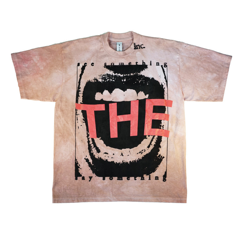SEE SOMETHING T-Shirt / CANDY BROWN - The Incorporated