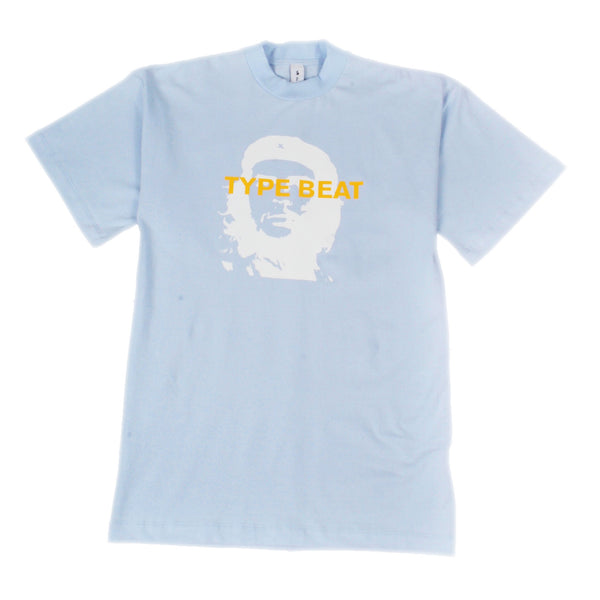 """CHE TYPE BEAT"" T-SHIRT (BABY BLUE)"