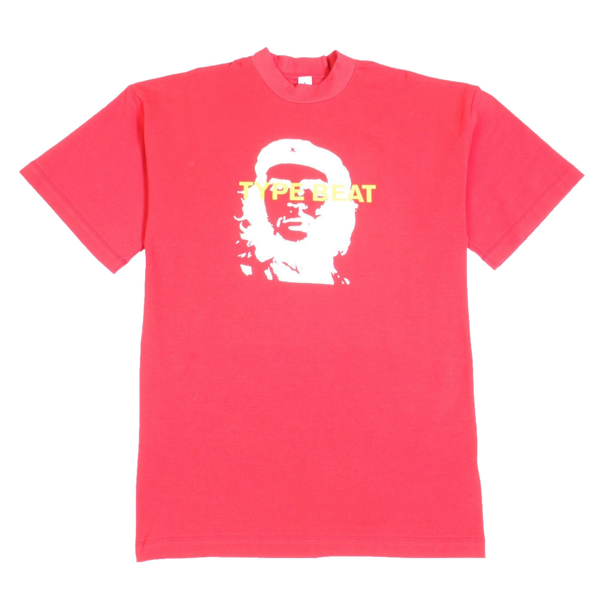 """CHE TYPE BEAT"" T-SHIRT (MERLOT)"
