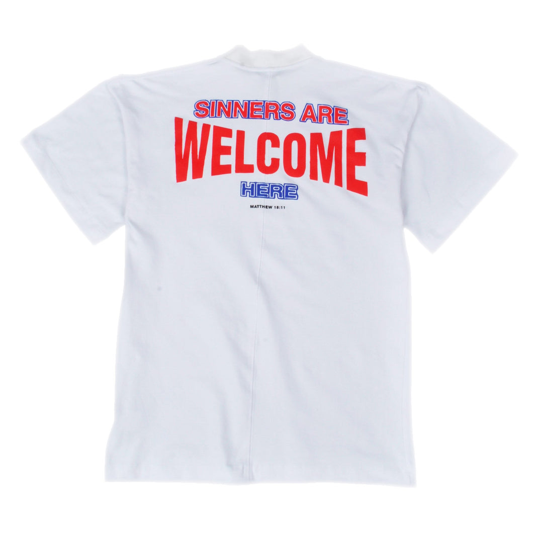 SINNNERS ARE WELCOME T SHIRT SEATTLE
