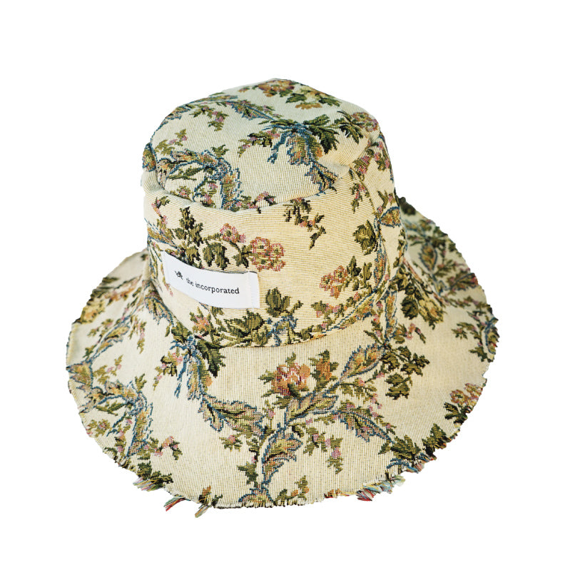 DEADSTOCK UPHOLSTERY Bucket Hat / BUTTER - The Incorporated