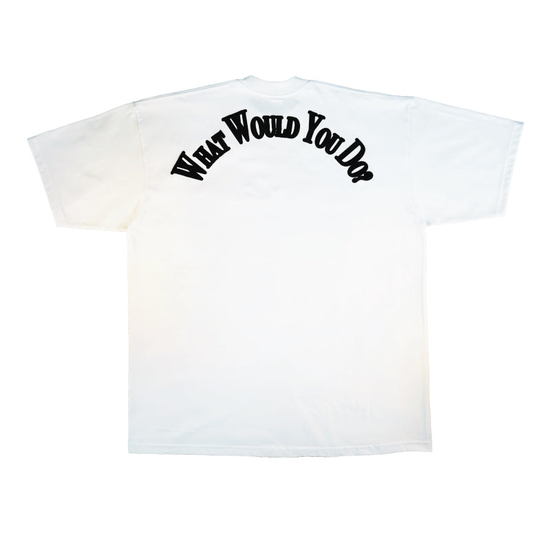 TEMPER TANTRUM LOGO T-Shirt / WHITE - The Incorporated