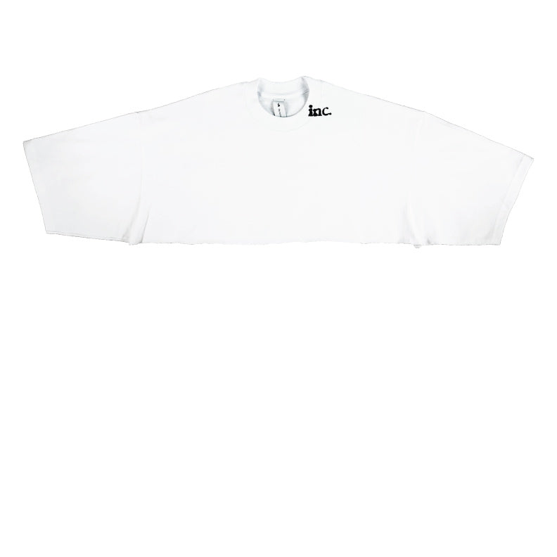 THE CROP T-Shirt / WHITE - The Incorporated