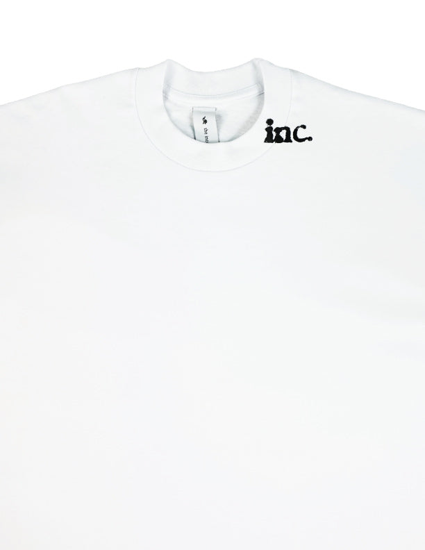 THE CROP LS T-Shirt / WHITE - The Incorporated