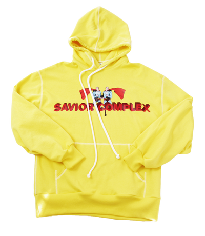 SUPERMAN HOODY - YELLOW - The Incorporated