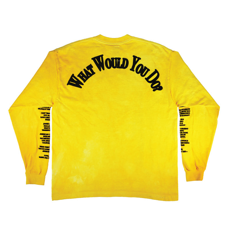 FILL IN THE BLANKS Long Sleeve T-Shirt / SUNSHINE - The Incorporated