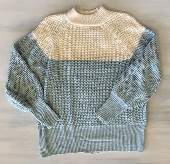 Blue Sky Sweater