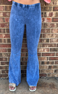 Light Denim Bell Bottoms, Plus